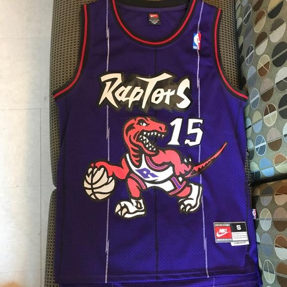 fd862c4fe07 Vince Carter Toronto Raptors Purple NBA jersey. M 5bb54500aa87705634aa5e88